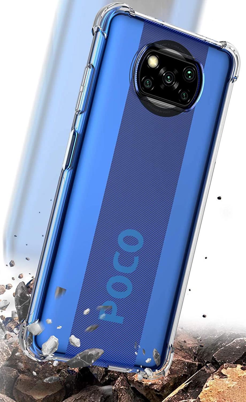 Etui do Xiaomi POCO X3 NFC ANTI-SHOCK + Szkło Przeznaczenie Xiaomi