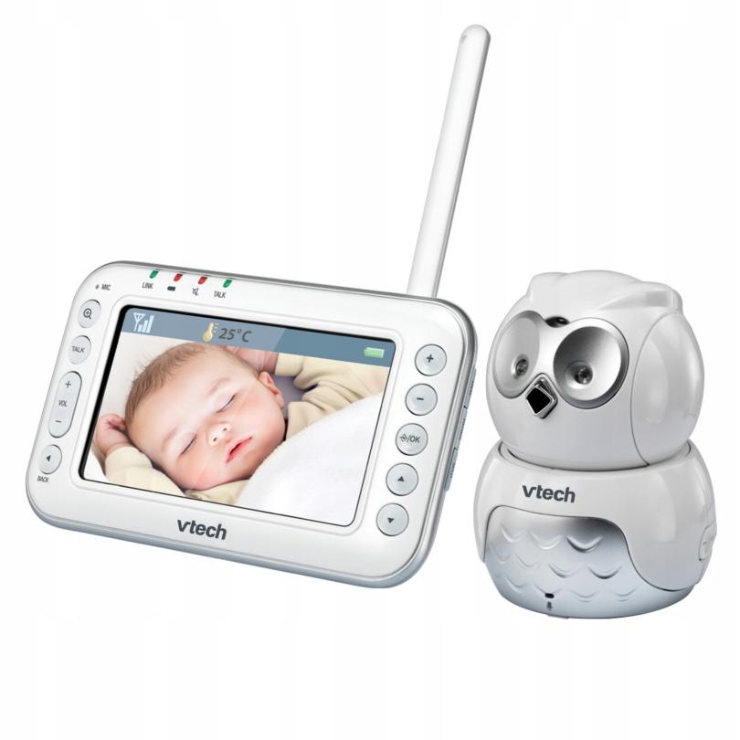 Vtech Niania Elektroniczna Kamera Dect LCD BM4600