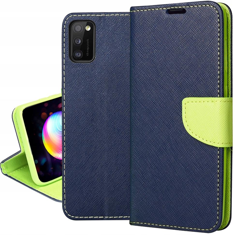 Etui Fancy Case + SZKŁO 9H do Samsung Galaxy A41