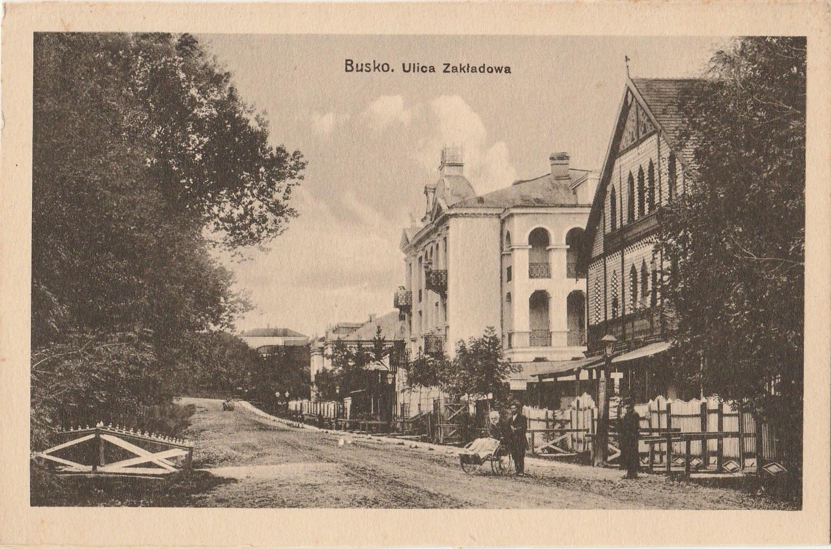 Busko-Zdrój - Works Street