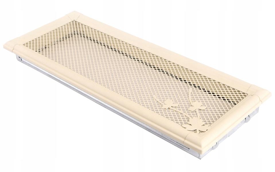 Ventilačné mriežky RETRO 16x45cm slonoviny