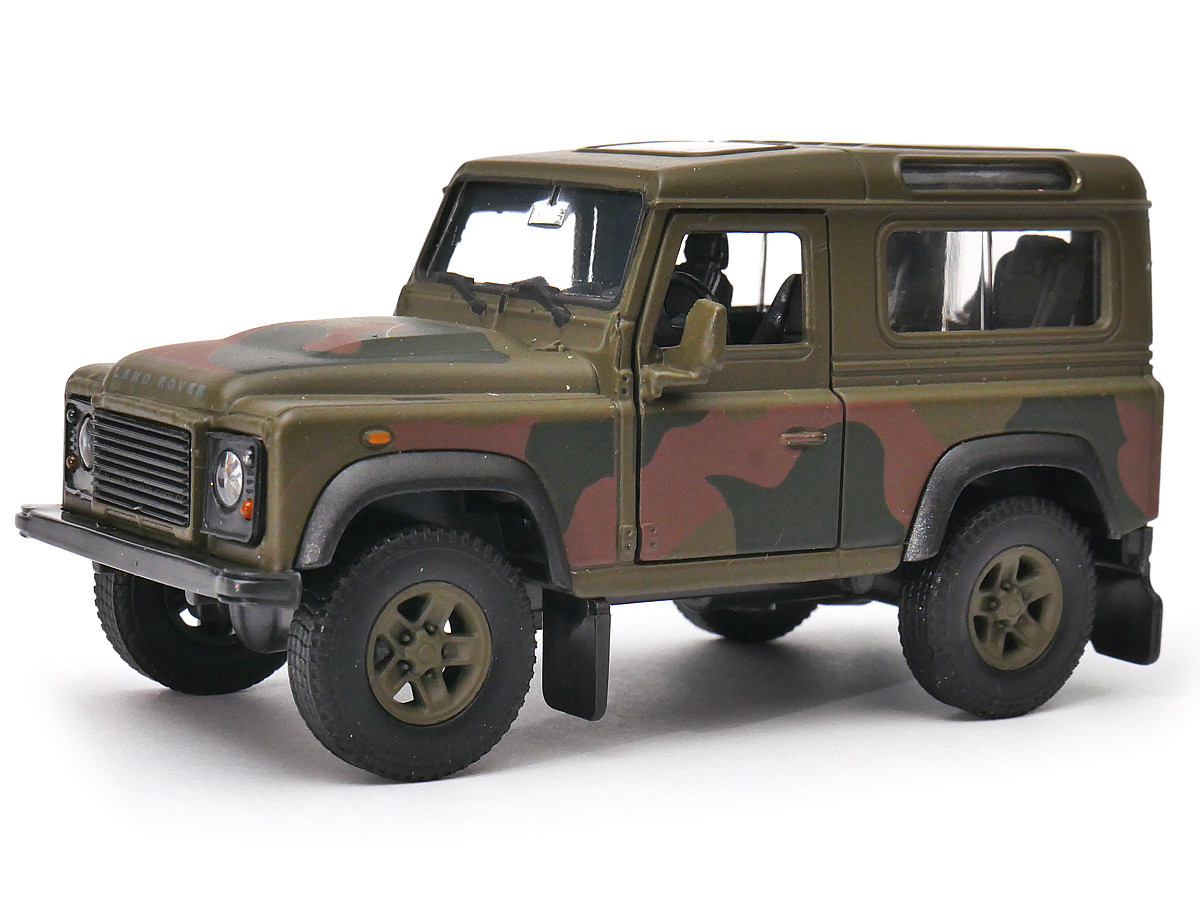 Land Rover Defender 1:34 -39 Welly armáda
