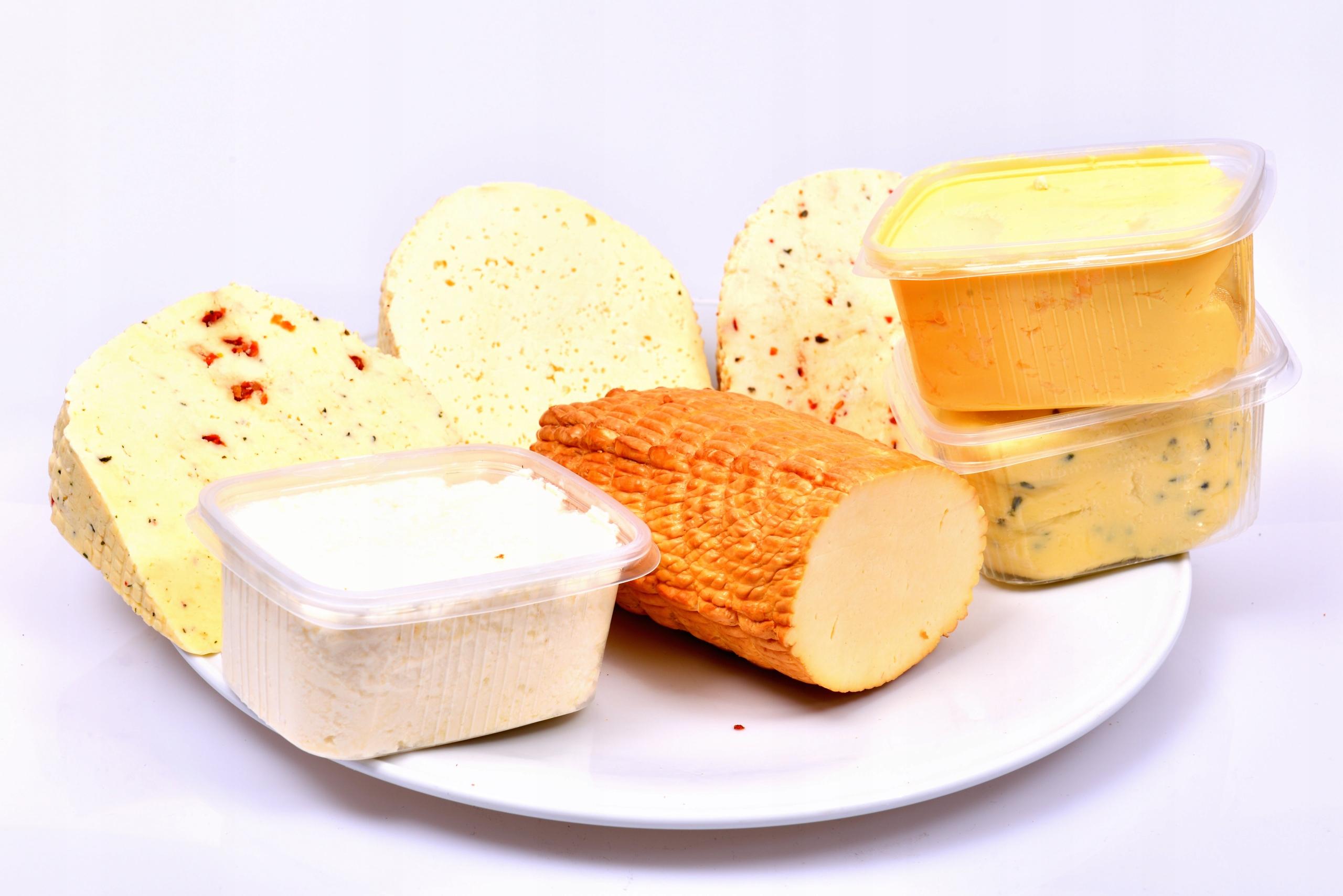Набор молочных продуктов около 2 кг / БЕСПЛАТНЫЕ дольки около 400г