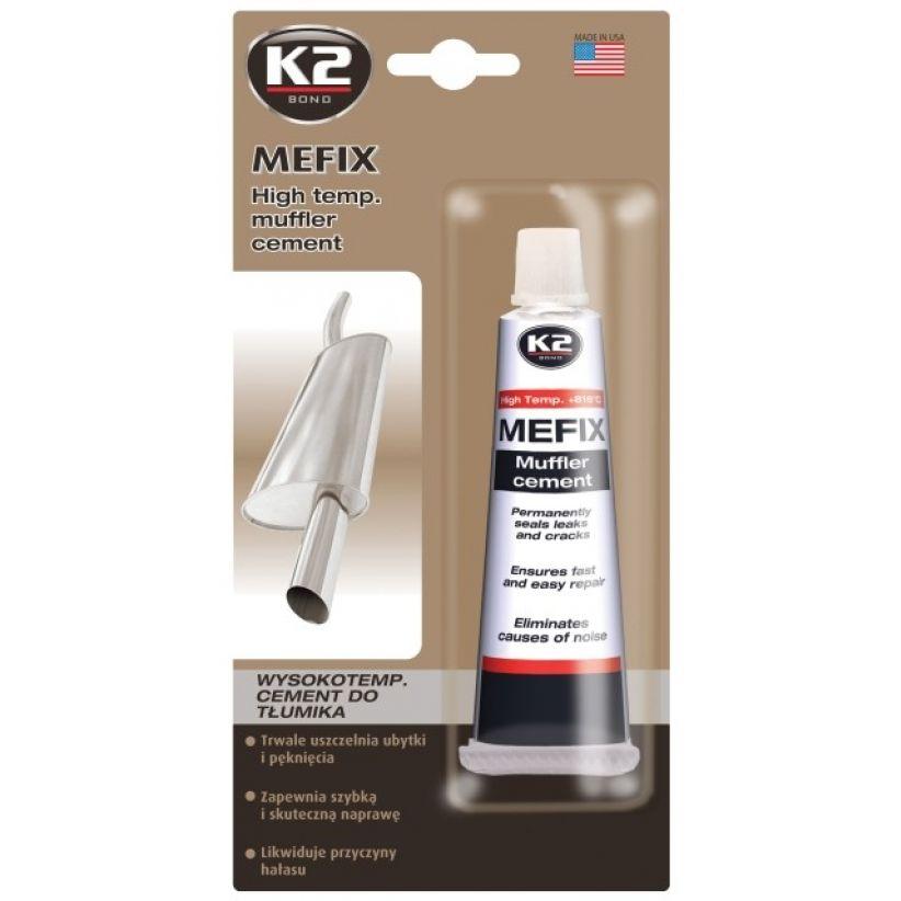 K2 Mefix Cement для ремонта и установки глушителей