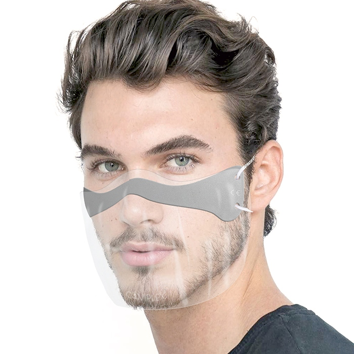 Защитная маска Coviplex Мини шлем Серый L