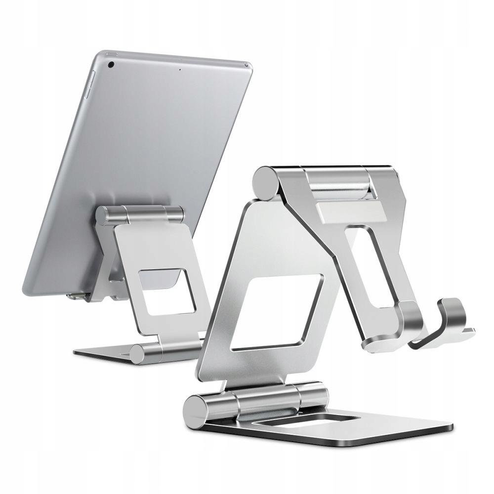 Uniwersalna Podstawka Stojak Z10 Pod Tablet Silver Marka Tech-Protect