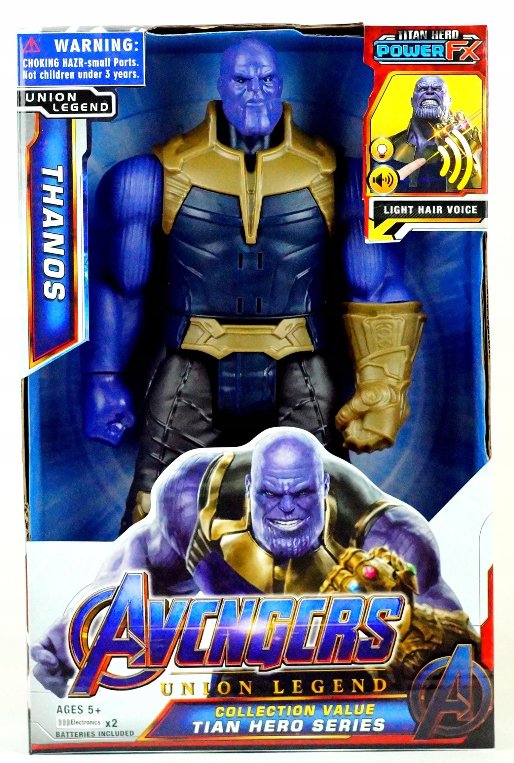 Akčná figúrka Thanos Avengers Marvel znie 30 cm