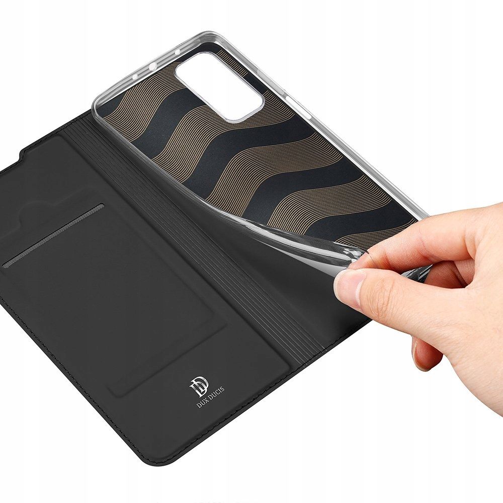 Etui Dux Ducis do Xiaomi Mi 10T Pro / Mi 10T black Typ etui z klapką