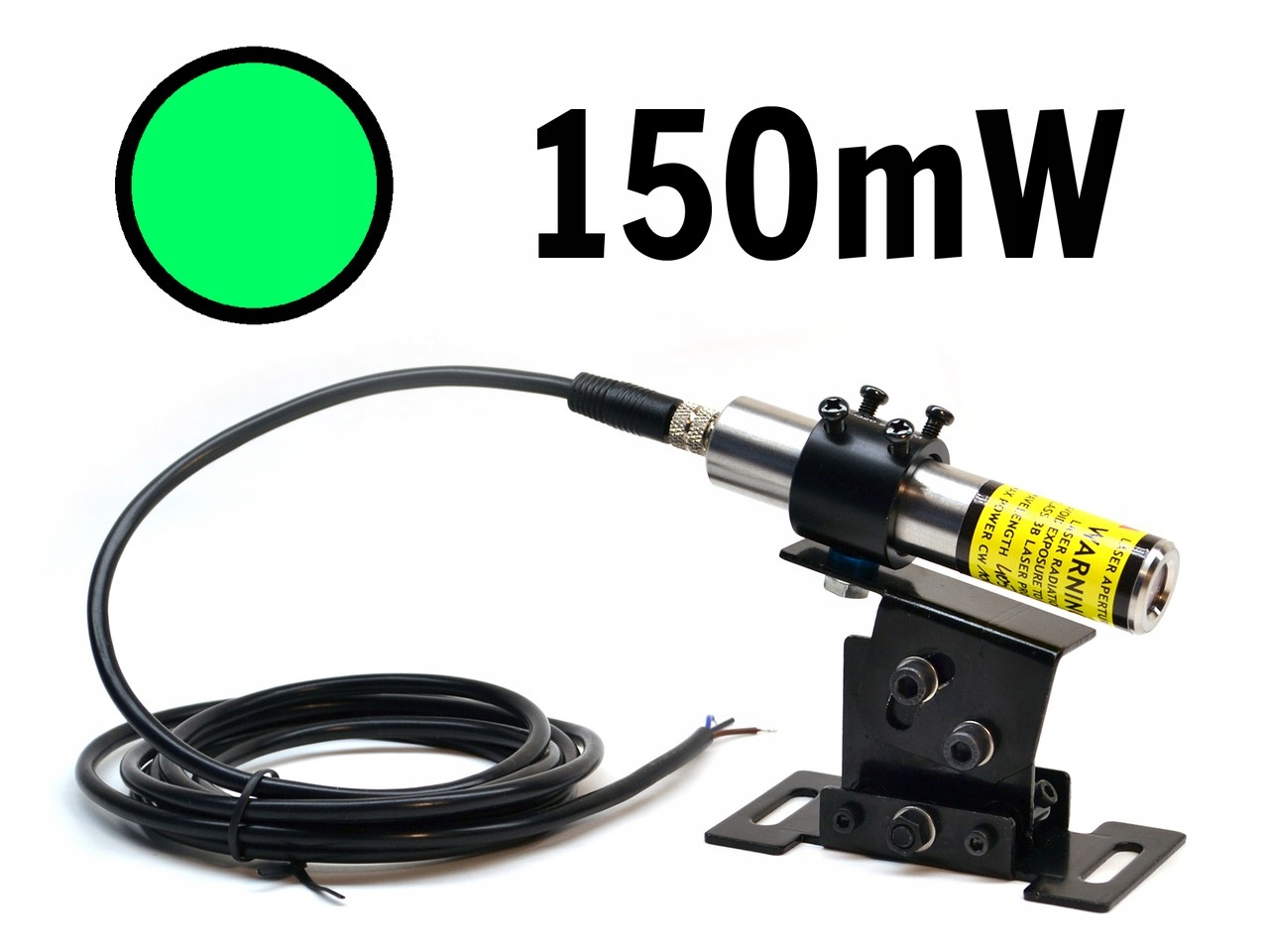 Lineárna lineárna zelená 150mw 520NM IP67 Lambdawave