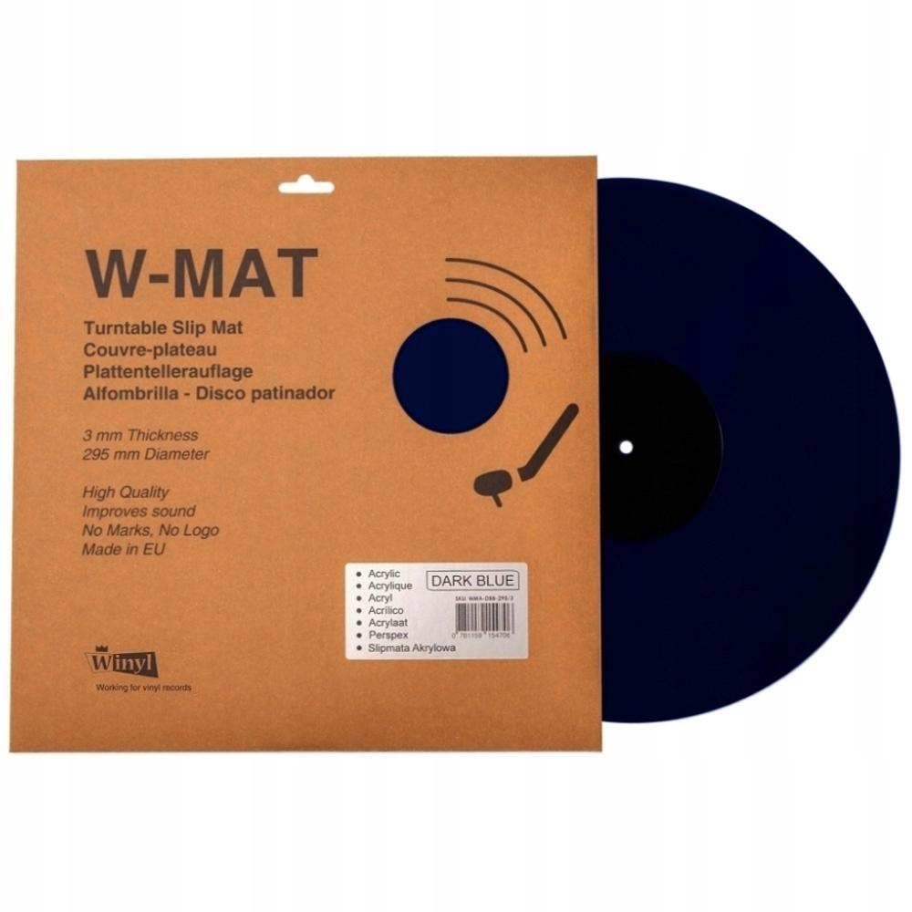 WinYL W-MAT akrylová tmavo modrá 295 / 3mm SLIPMATA