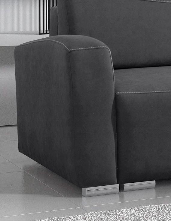 RENO LUX stilvolles Sofa für das Wohnzimmer / f. Schlafbereich / Farben Schlafbereich - Breite (cm) 131-140 cm
