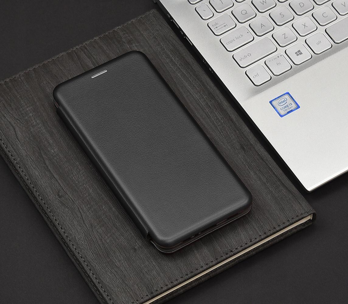 Etui do Samsung Galaxy A12 SKÓRZANE CASE + SZKŁO Dedykowany model Samsung Galaxy A12
