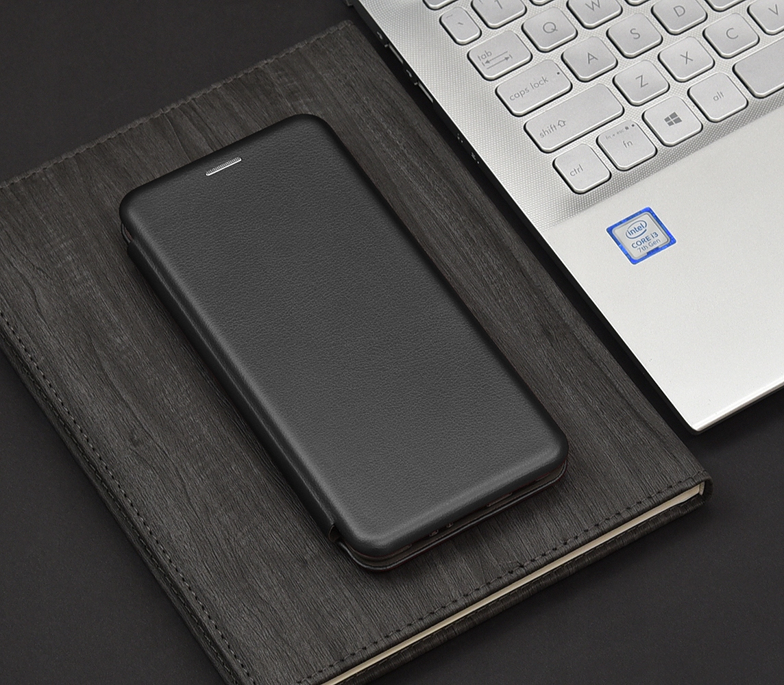 Etui do Samsung Galaxy A32 5G Skórzane Case +Szkło Dedykowany model Samsung Galaxy A32 5G