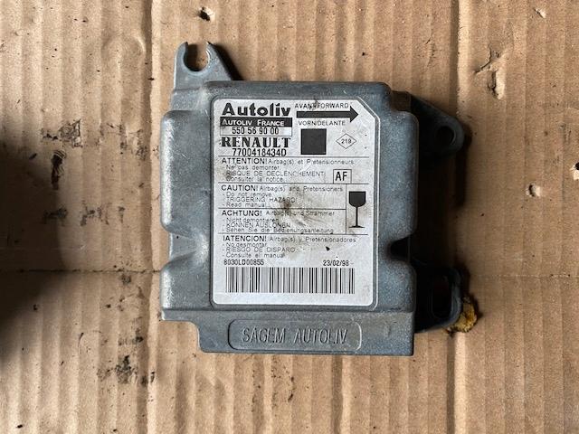 renault scenic i сенсор подушек airbag 550569000