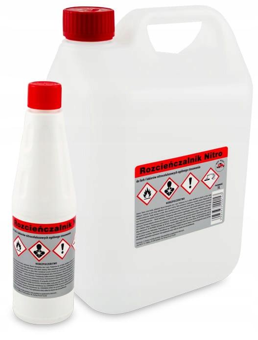 Irys Rozpuszczalnik nitro - celulozowy 5l benzyna