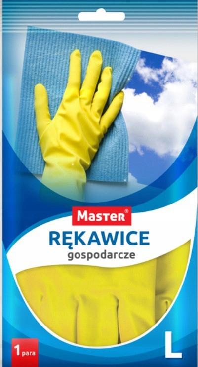 Экономические перчатки Резиновые размер L