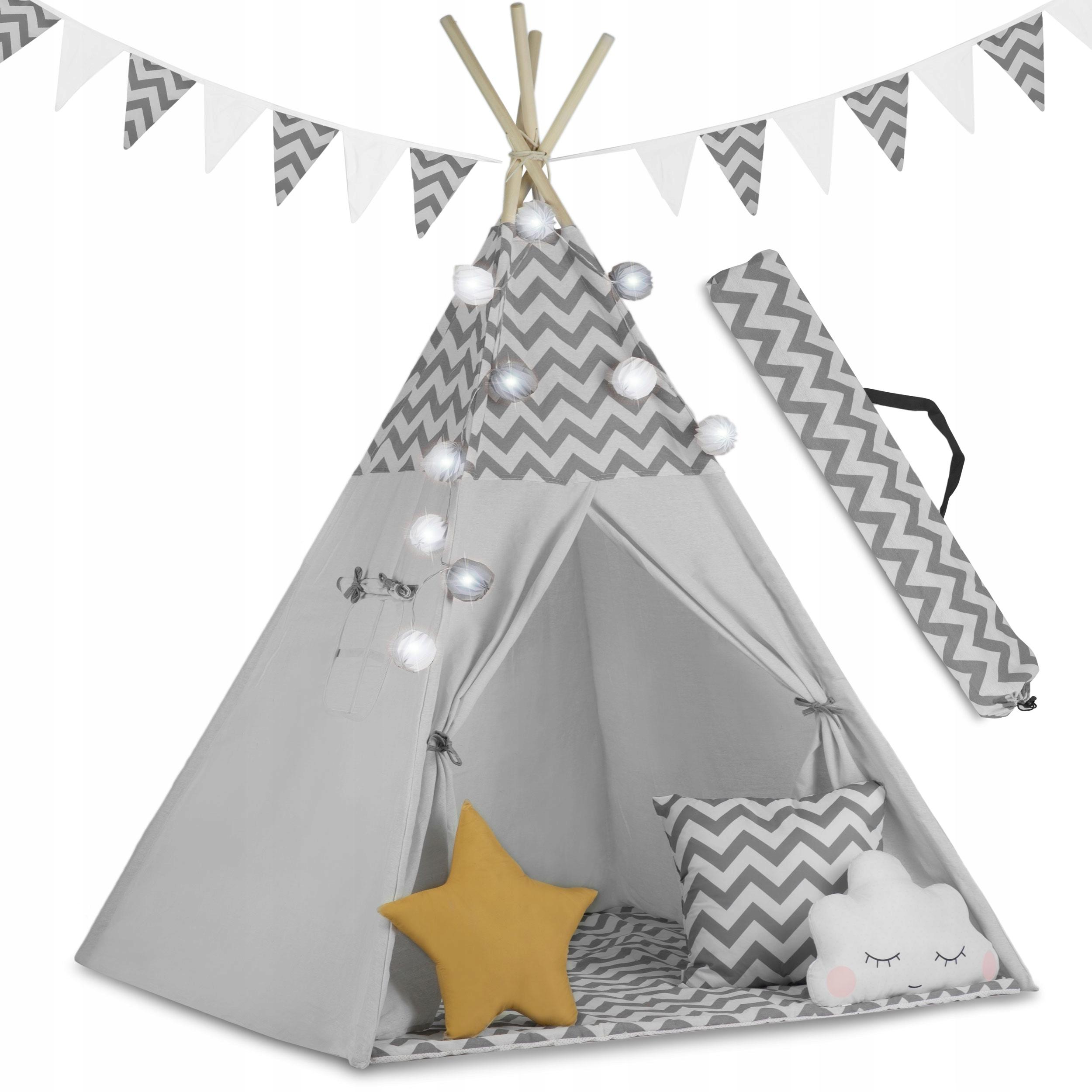 Детская палатка TIPI TEEPEE Garland Pillows