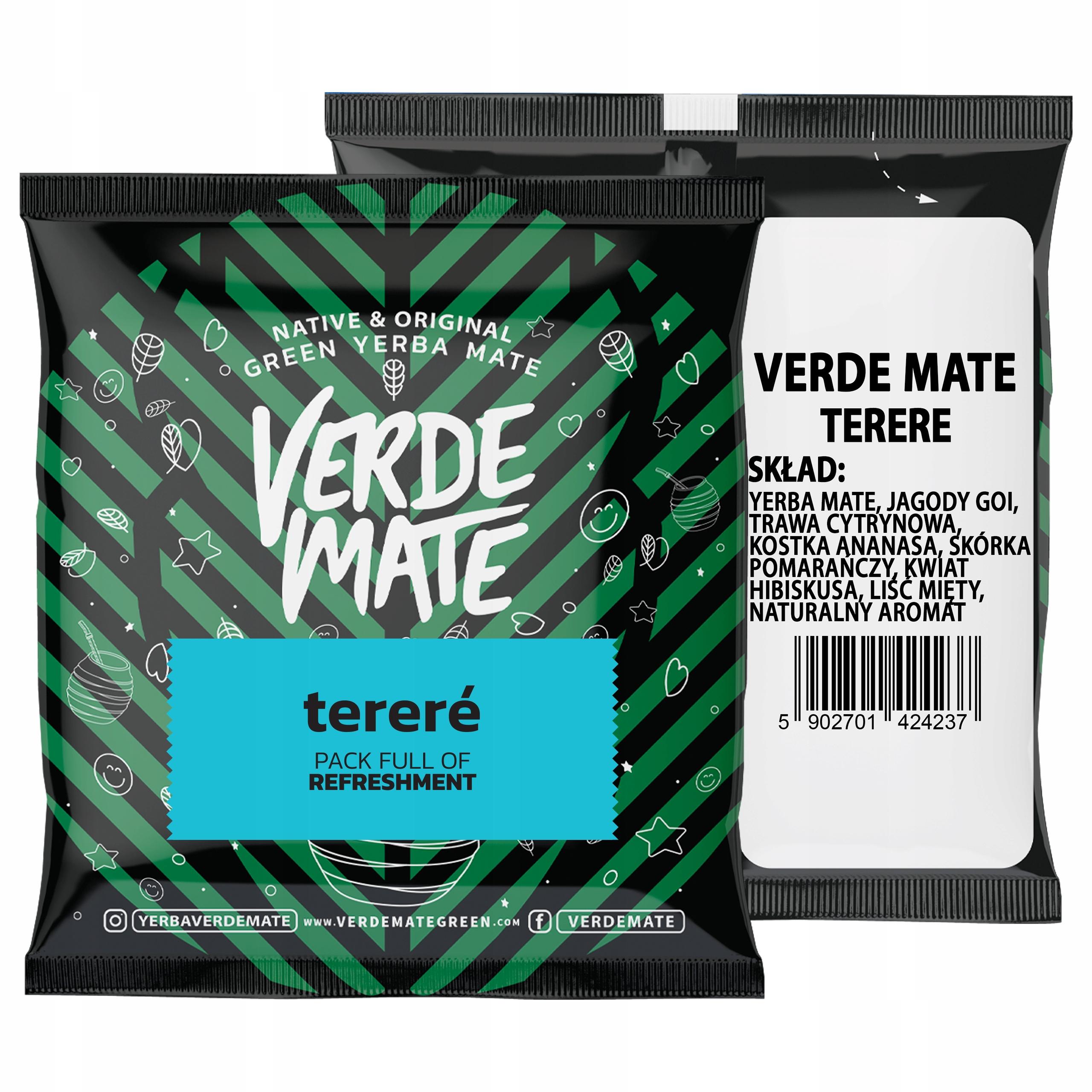 Yerba Verde Mate Green Terere 50g próbka