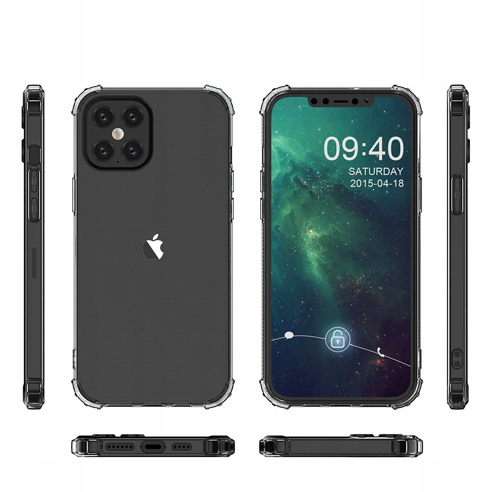 Pancerne etui A-Shock + szkło do iPhone 12 Pro Max Producent Braders