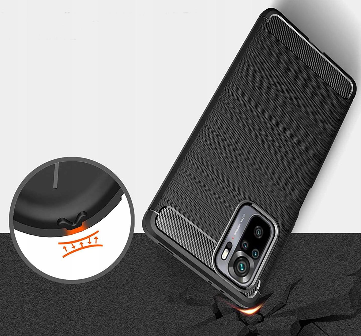 ETUI do Xiaomi Redmi Note 10 PANCERNE KARBON SZKŁO Kod producenta E137A