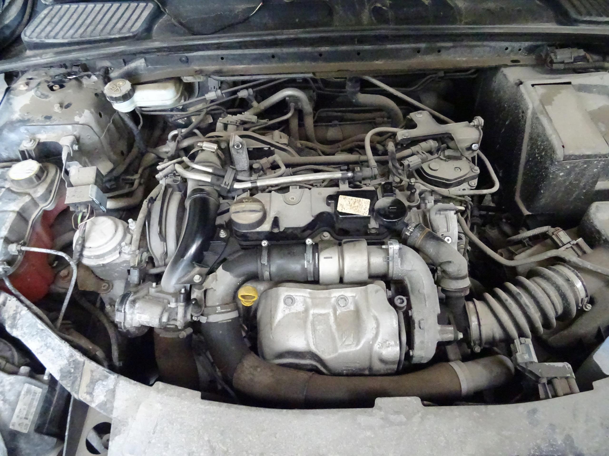 двигатель ford mondeo mk4 lift s-max lift 16 tdci