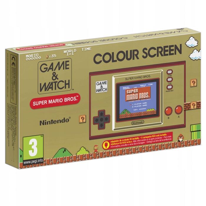 Nintendo hra a hodinky: Super Mario Bros.