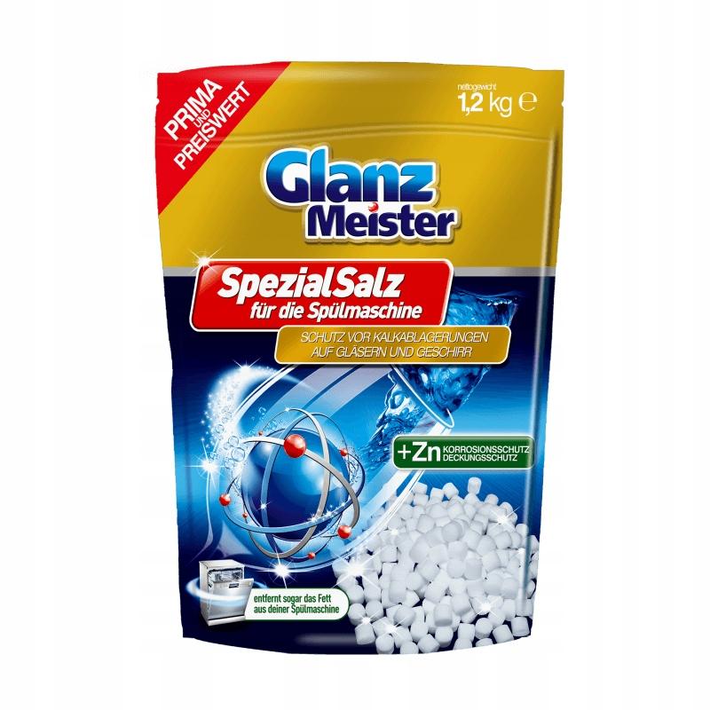 Соль для посудомоечной машины GlanzMeister 1,2 кг