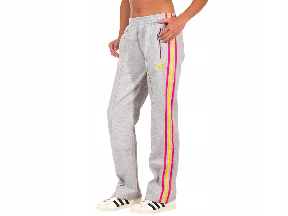 Spodnie Sportowe Damskie Dresy Adidas G84410