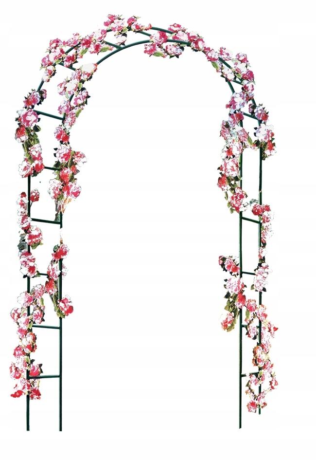 PERGOLA OGRODOWA ŁUK do róż pnącz alejki na kwiaty