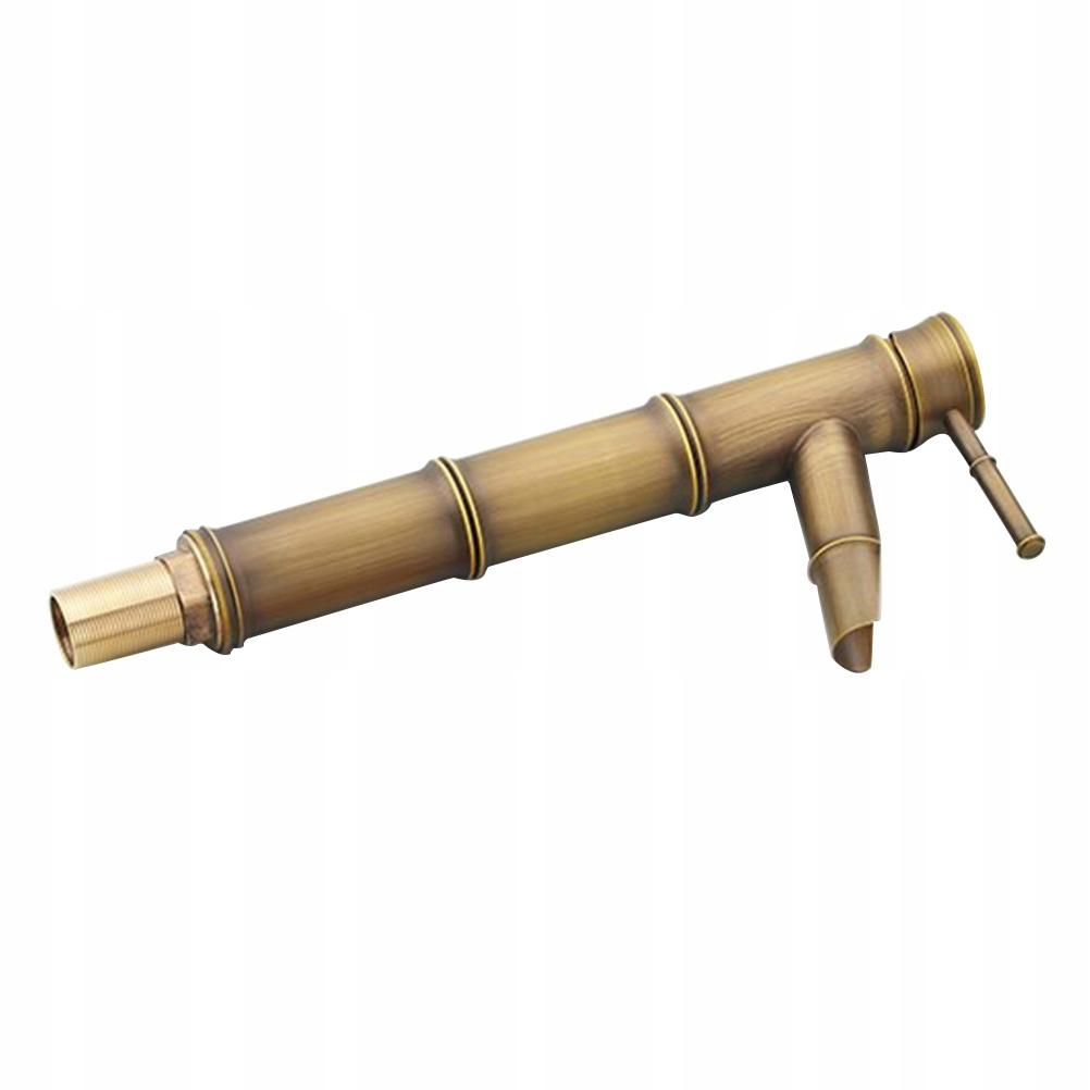 Európsky medený retro bambusový faucet