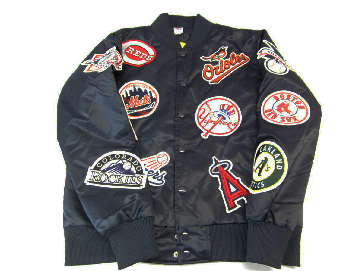 Baseballová bunda Majestická MLB Baseball Team XL