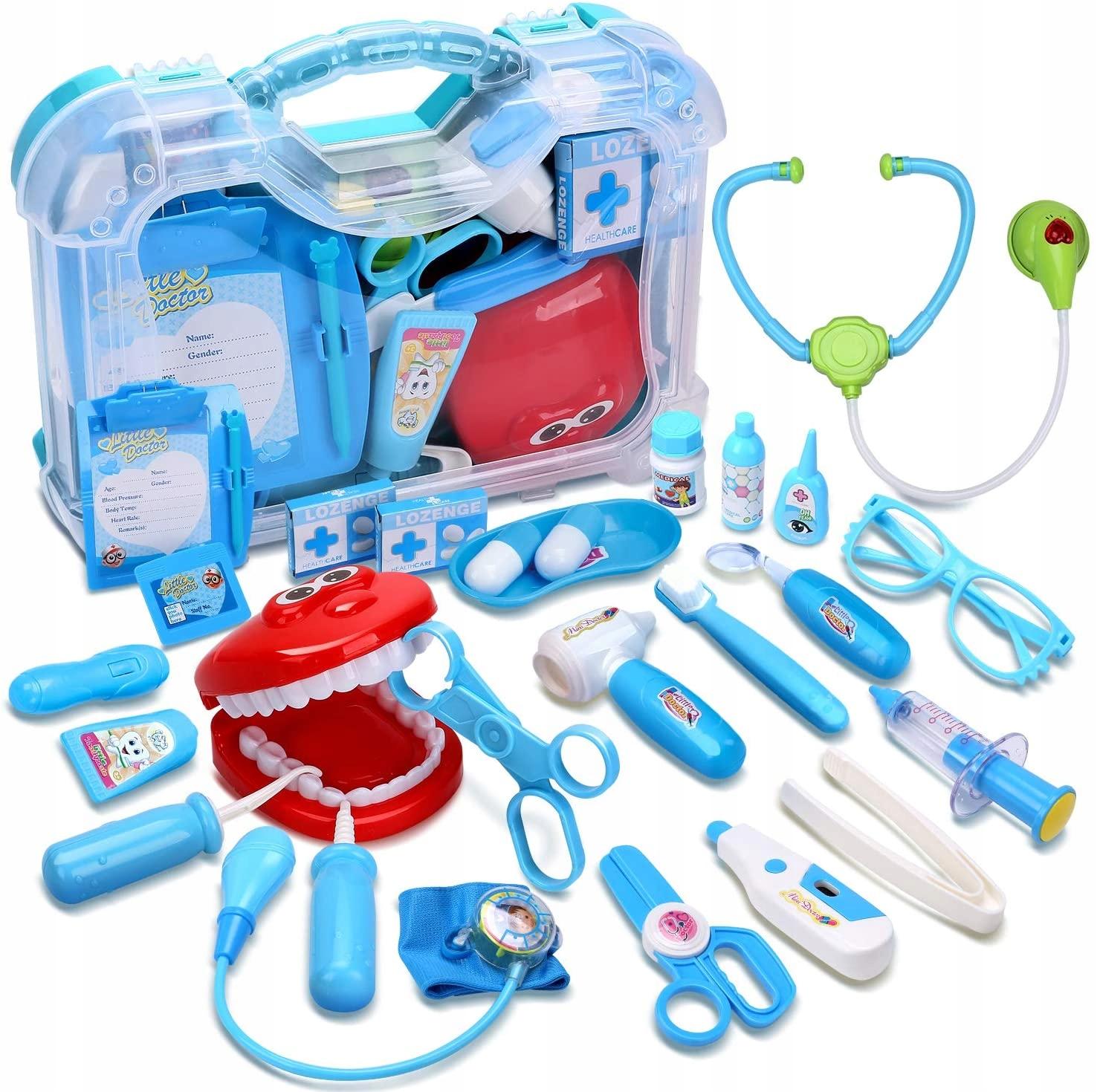 CUTE STONE Zubár Doktor Predstierajte hračku 30ks