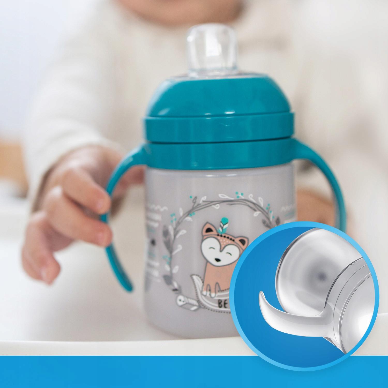 LOVI Pierwszy kubek Easy Switch 150 Indian Summer Cechy dodatkowe profilowany kształt uchwyt ustnik wolne od BPA
