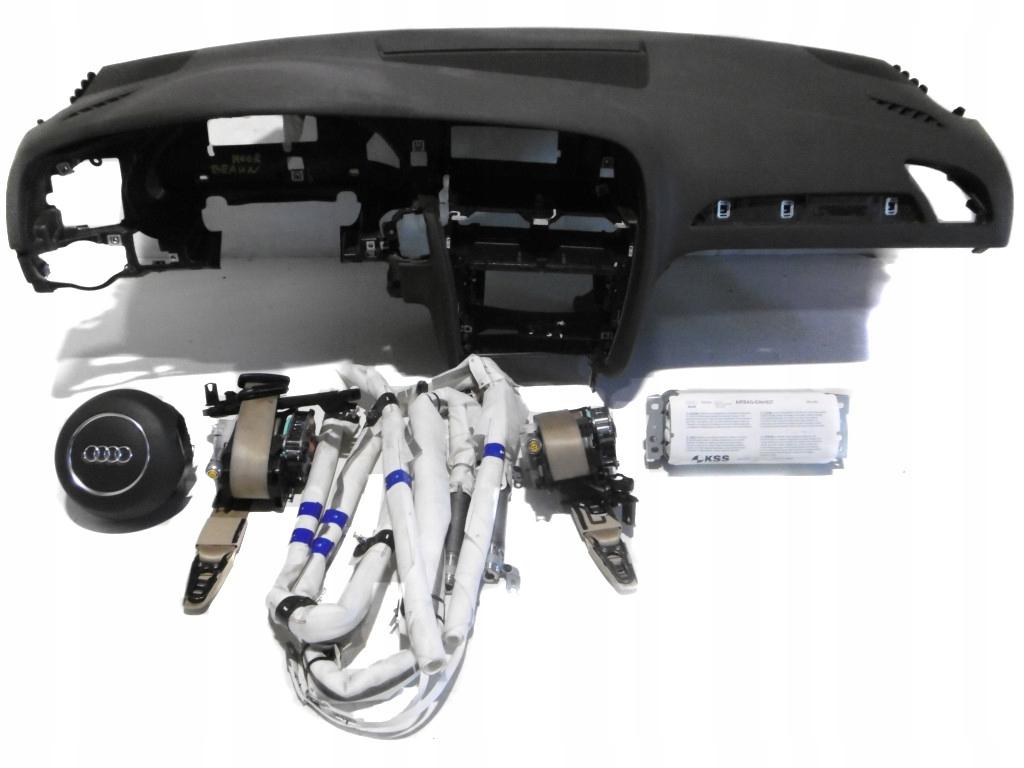 audi a4 b8 lift консоль подушки airbag мур браун