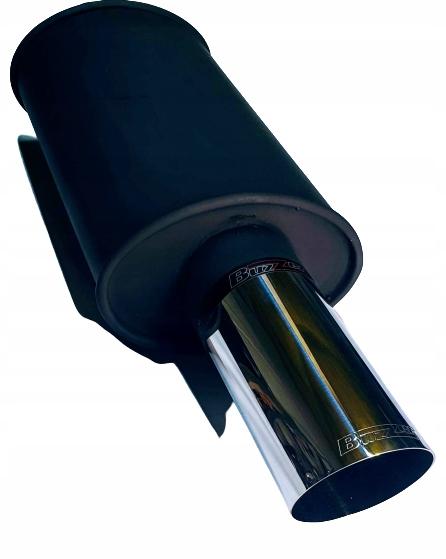глушитель бас универсальный buzzer 90 мм полировка