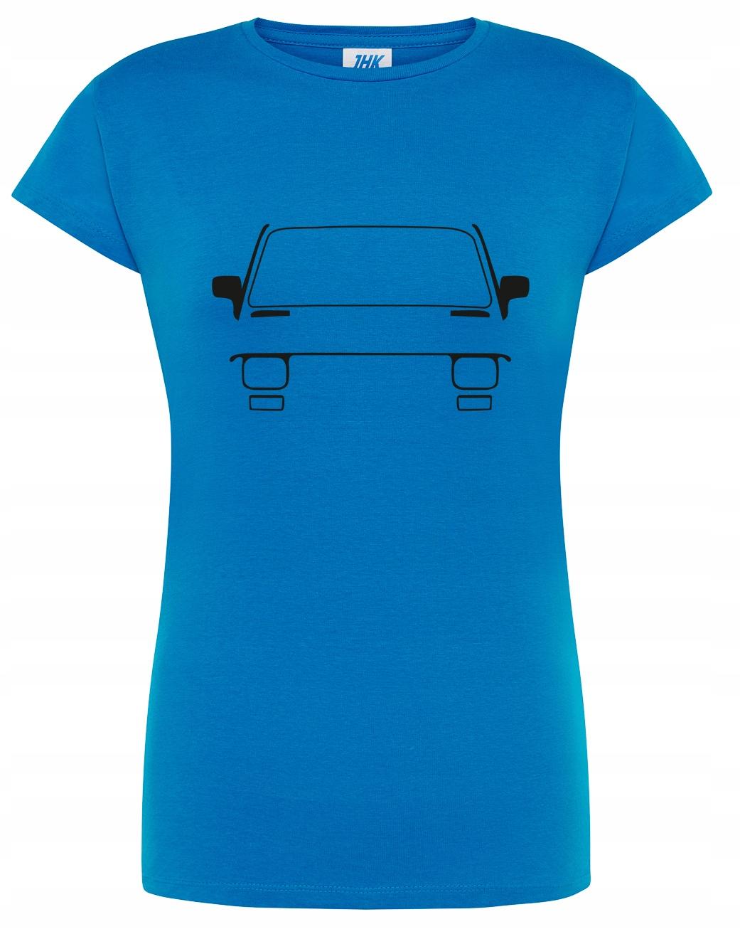 Damska koszulka Fiat 126P Maluch Prl L