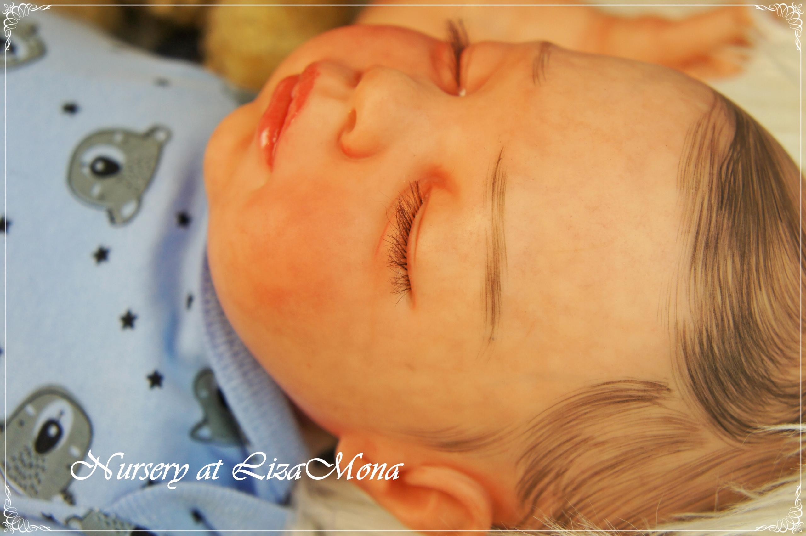 OLIVIA, REBORN bábika, Abigail od Revy Schick, 53 cm