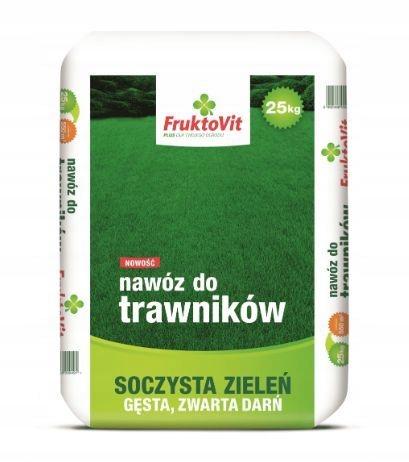 Nawóz do trawników Fruktovit 25 kg