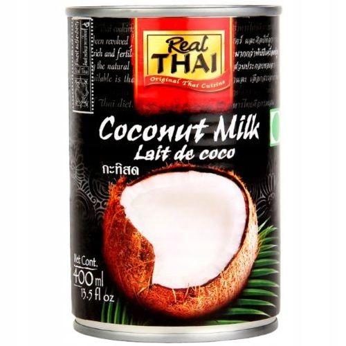 MLEKO KOKOSOWE 400 ml Mleczko Real Thai