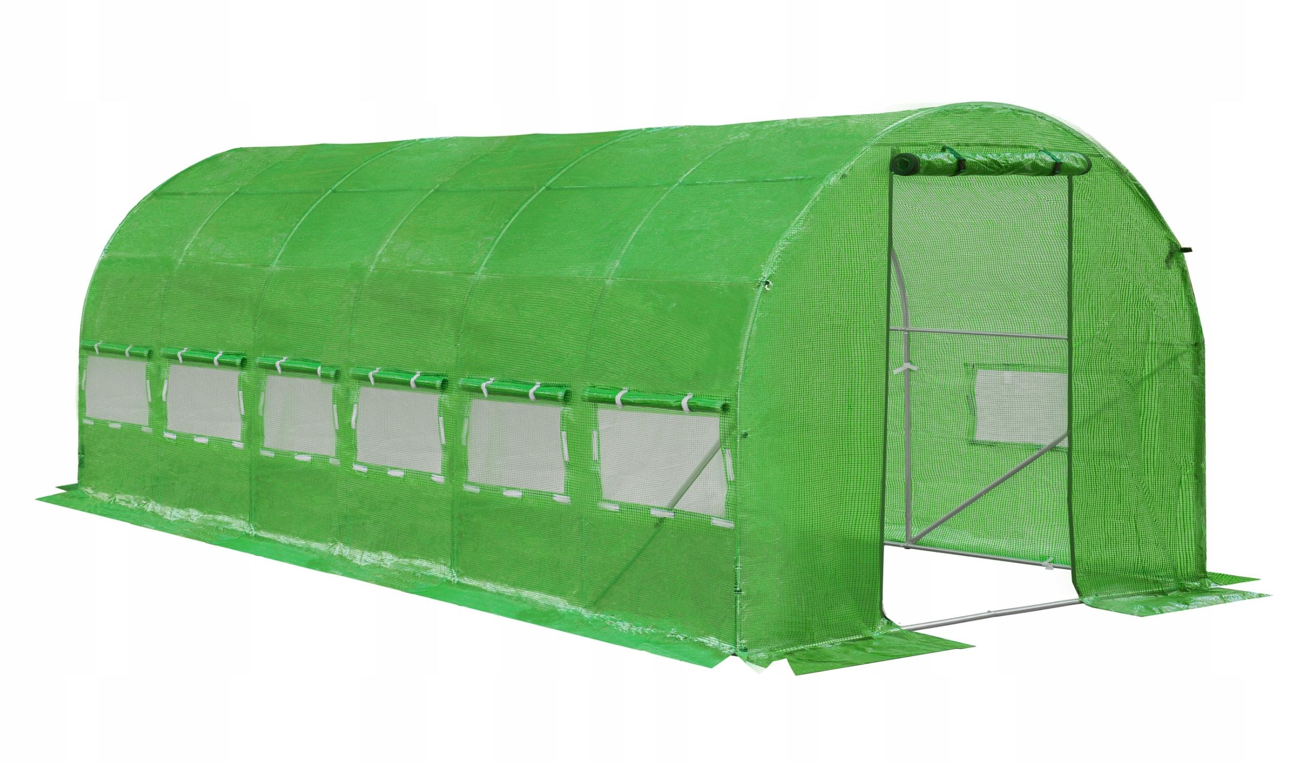 TUNEL FOLIOWY 18m2 OGRODOWY UV-4 SZKLARNIA 6x3x2m