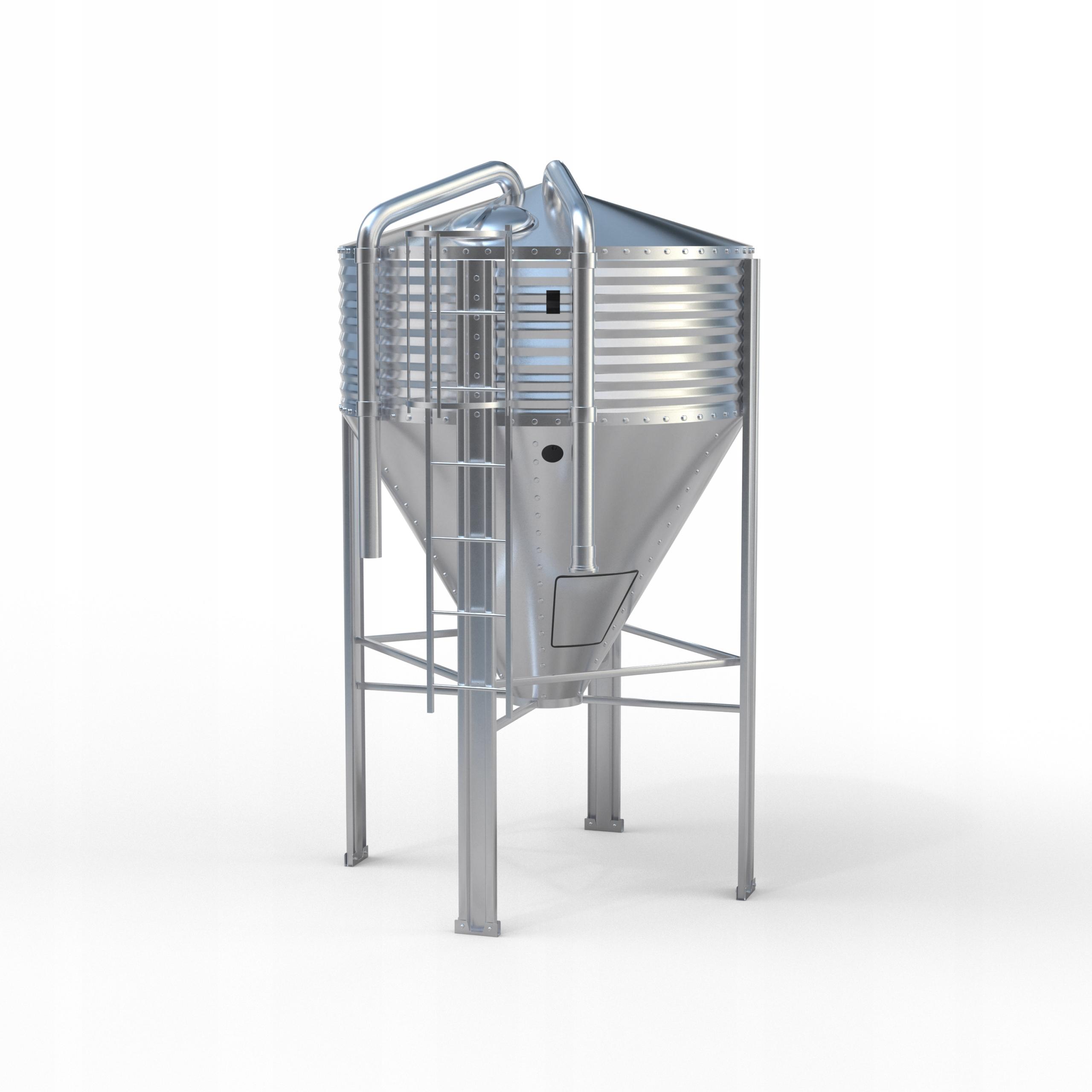 Silosy paszowe AGOS 3 ton silos PRODUCENT 72h