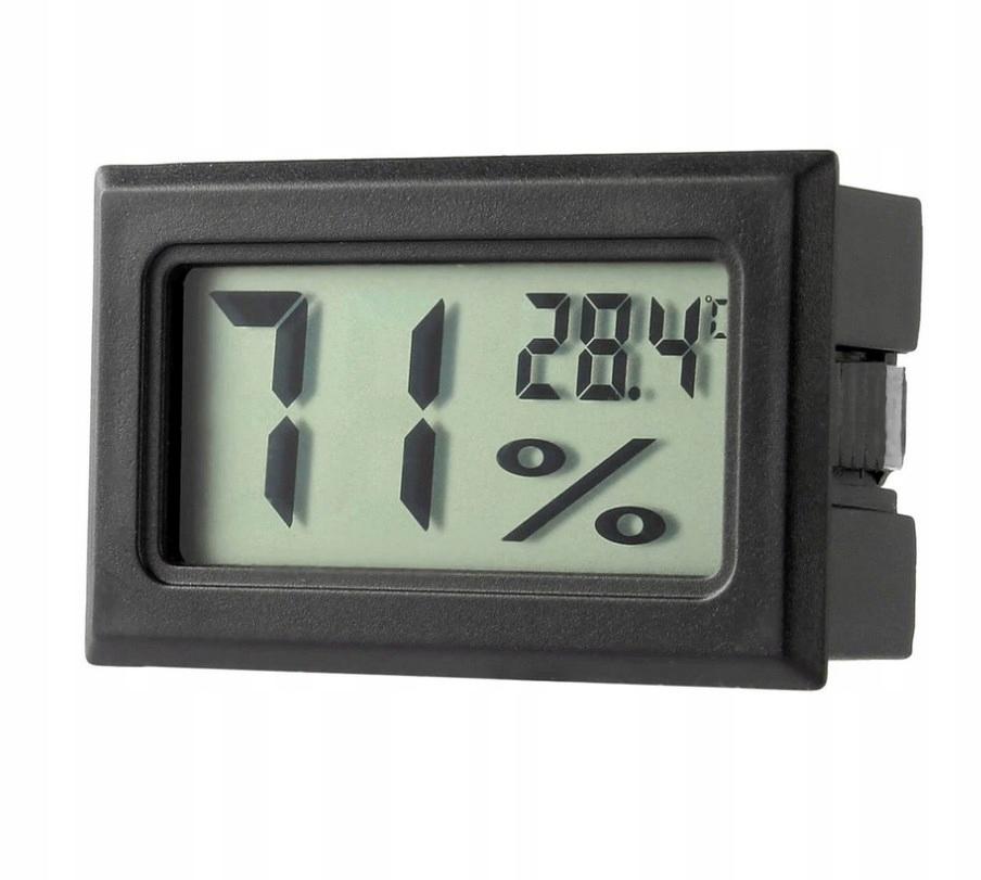Termometr Higrometr Wilgotnościomierz Cyfrowy 2w1