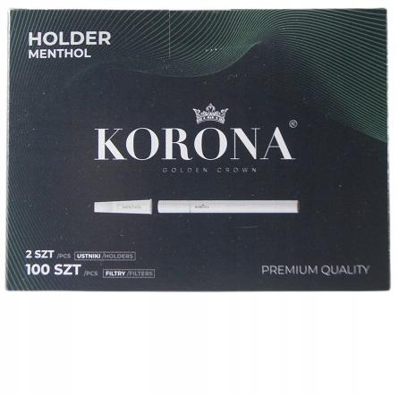 Мундштук с мятными фильтрами КОРОНА для сигарет