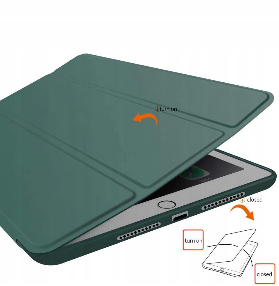 Etui SmartCase do iPad 7 / 8 (10.2) zielony Przeznaczenie Apple