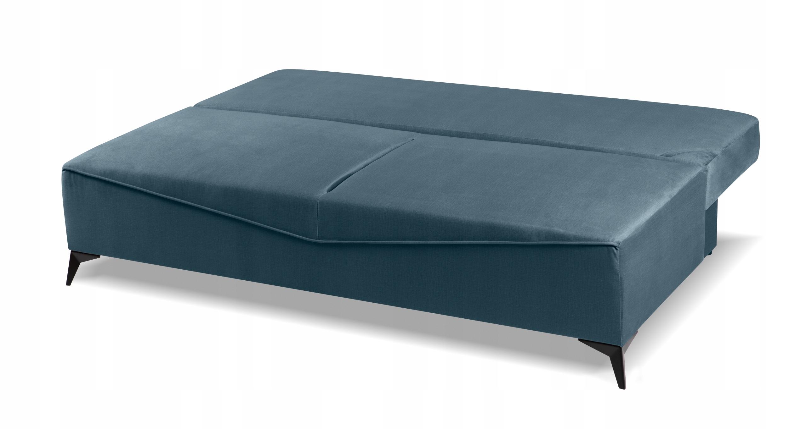 Sofa młodzieżowa ASTIN pojemnik do spania kolory Głębokość mebli 96 cm