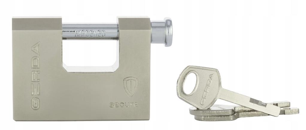 Kłódka GERDA SECURE Wzmocniona Trzpieniowa 60mm