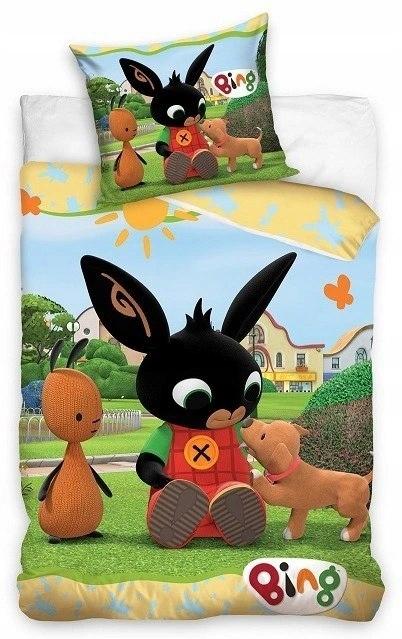 Posteľná bielizeň Bing králik Flop 160x200
