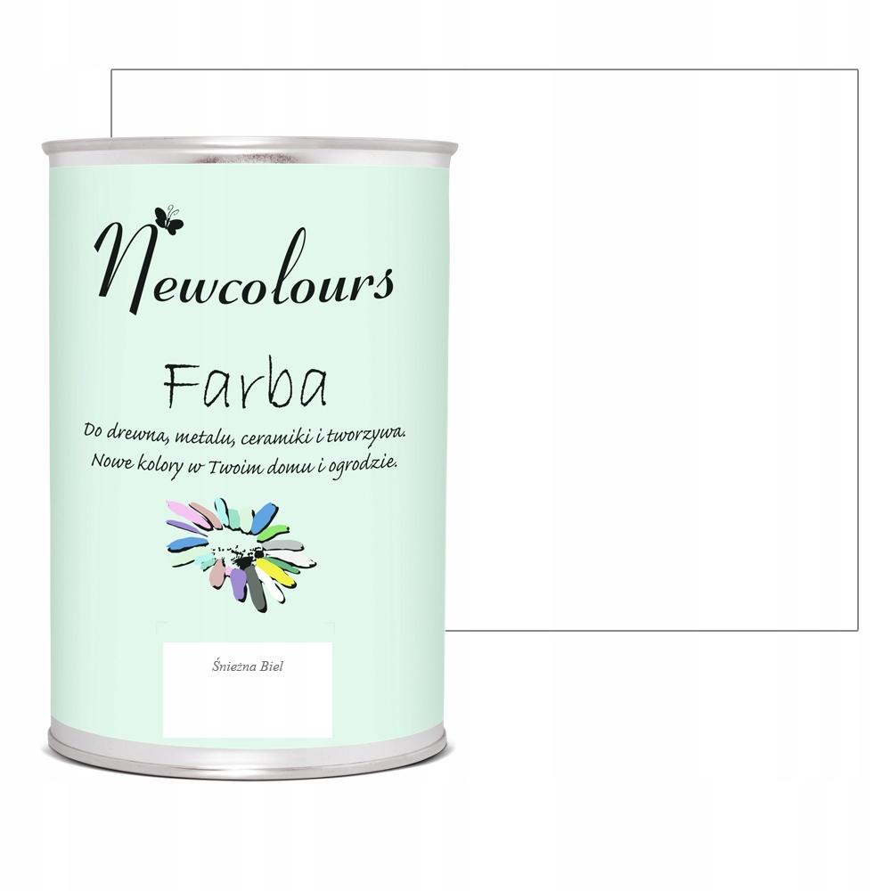 Краска для мебели Newcolours SNOW WHITE 900мл