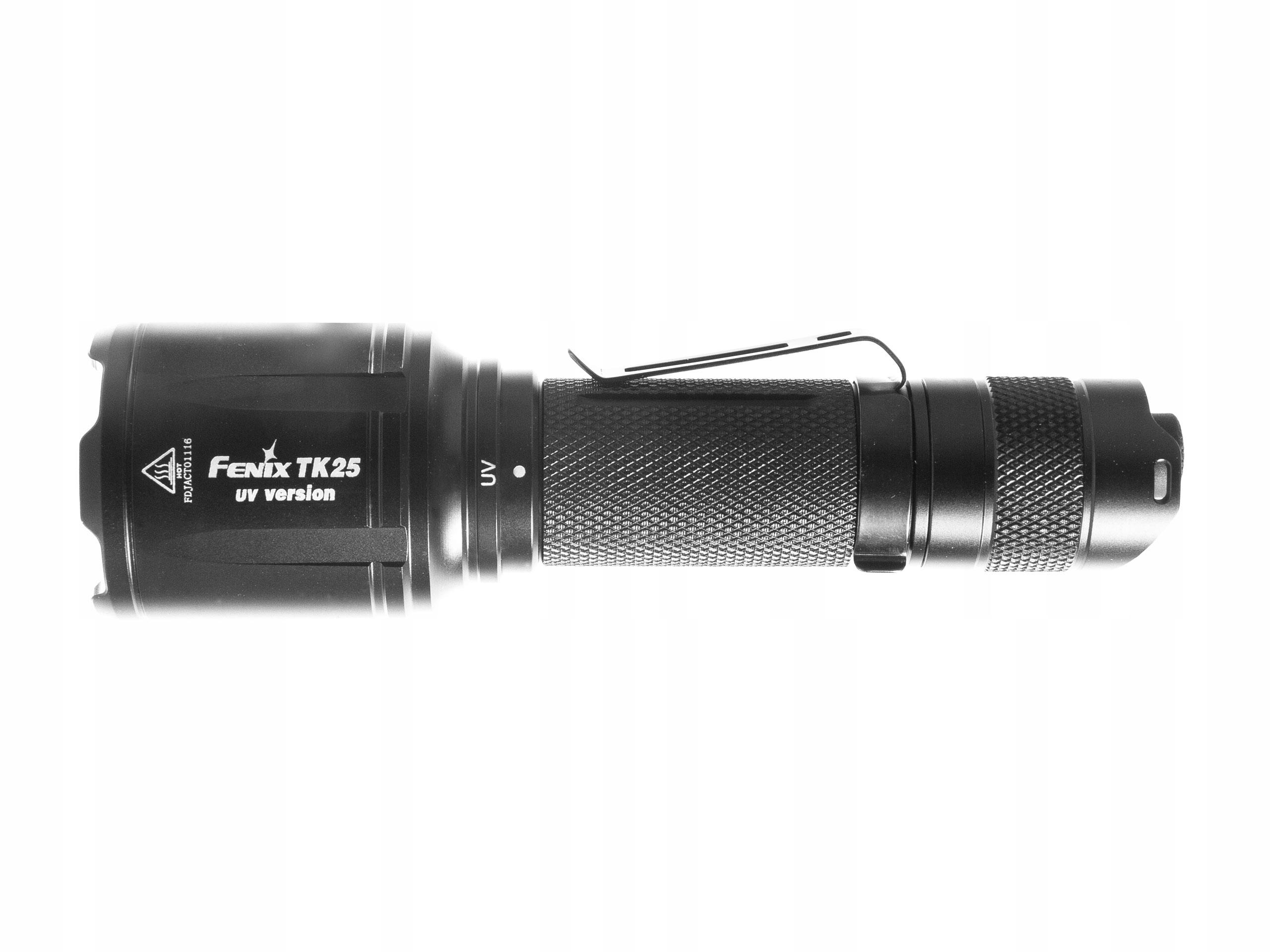 Baterka Fenix TK25 UV