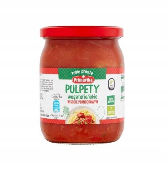Primavika Pulpety Weguś 430 г в томатном соусе